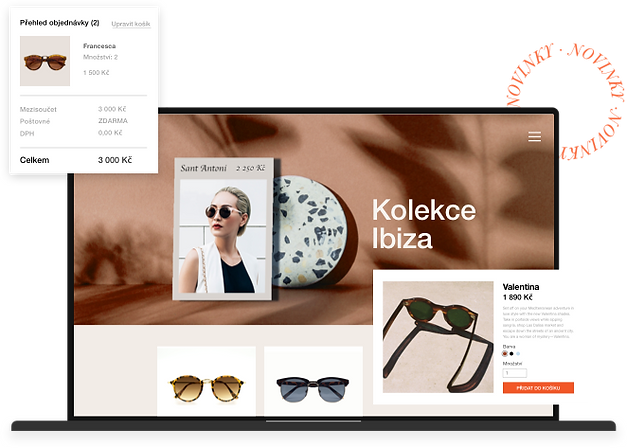Platforma Wix e-Commerce