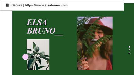 Domaine personnalisé pour le site web du portefeuille appelé Elvira Gron.