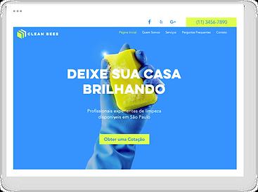 Template de site para negócios