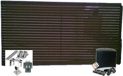 Aluminium slat gate kit