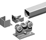Centilever gate hardware