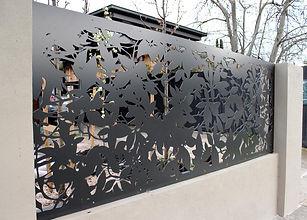 Decorative fence panel