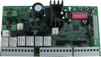 Logic board for automatic gates