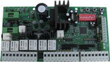Gate operator logic control boards