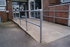Commercial handrails