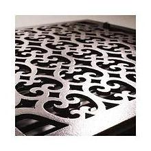 Laser cut gate designs