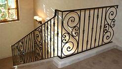Steel handrails