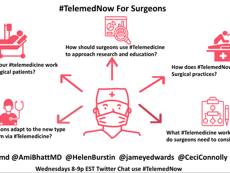 #TelemedNow for Surgeons
