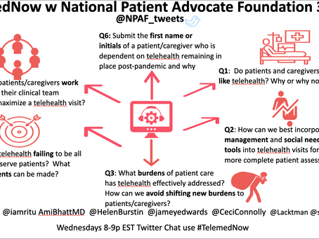 #TelemedNow w National Patient Advocate Foundation