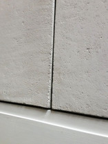 Surface applied concerte finish