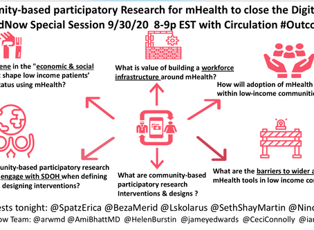 Community-based participatory research for mHealth to close the Digital Divide