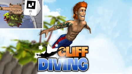Cliff Diving   PS Vita   Augmented Reality