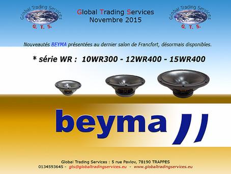 Nouvelle séries BEYMA