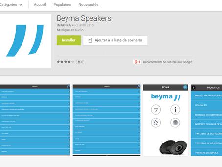 Nouvelle Application BEYMA
