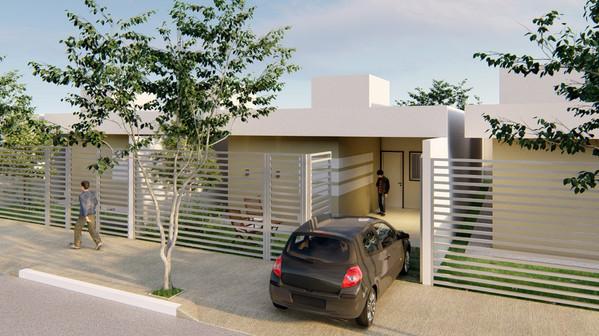 Projeto casa residencial_Entrada