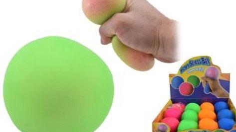 Stretchy stress ball