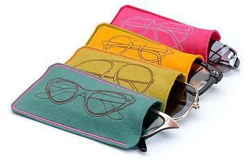 Eyeglasses in cases