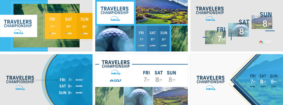 Golf Channel 2019 Promo Package   Styleframes