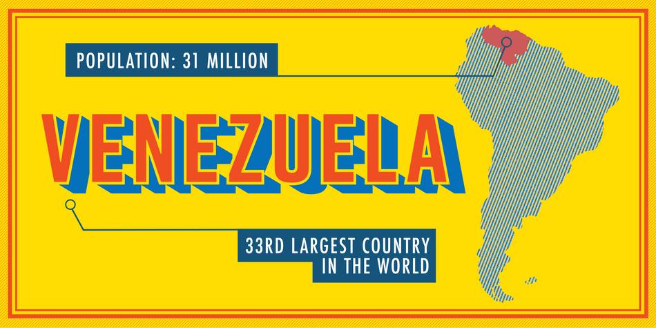 Edible Issues 2018: Venezuela   Poster Design/Infographics