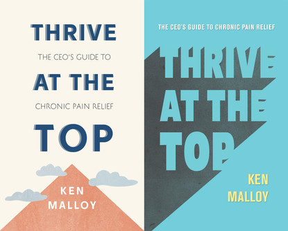 Thrive at the Top   Book Cover Designs