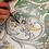 Decoro Versailles ceramica Deruta
