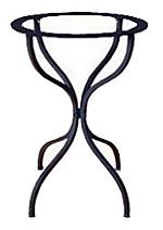 base tavolo in ferro battuto