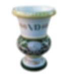 vaso coppa impero versailles