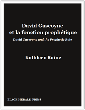 David Gascoyne et la fonction prophétique / David Gascoyne and the Prophetic Role