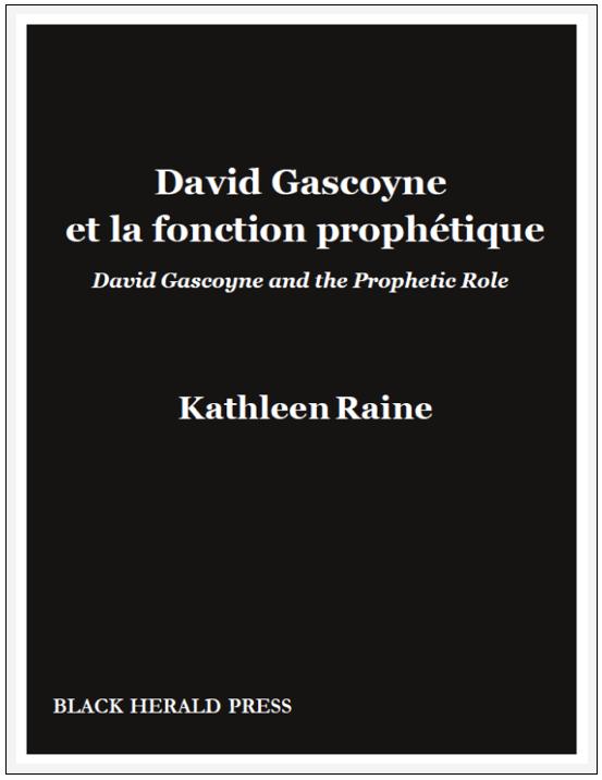 David Gascoyne et la fonction prophétique / David Gascoyne and the Prophetic Role