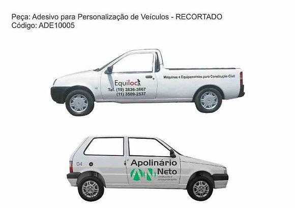 Adesivo Veículos - RECORTADO - ADE10005