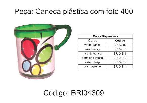Caneca Plástica com foto - BRI04309 à BRI04314