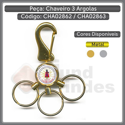 Chaveiro 3 Argola