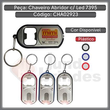 Chaveiro Abridor Prata com LED