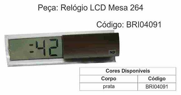 Relógio LCD Mesa 264 - BRI04091