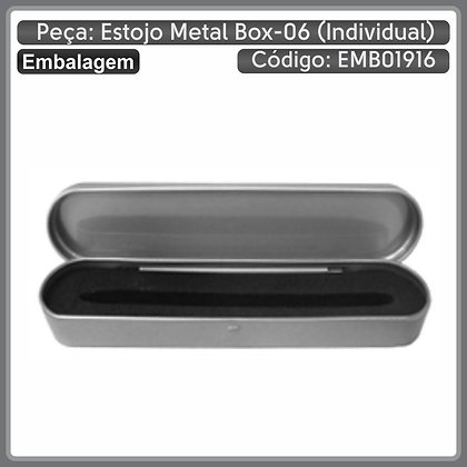 Estojo Metal BOX-06 (individual)