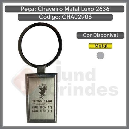 Chaveiro Metal Luxo 7616