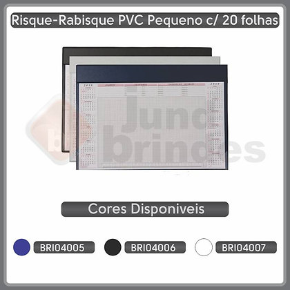 Risque-Rabisque PVC Pequeno 20fls