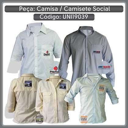 Camisa / Camisete Social