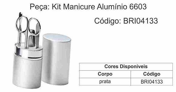 Kit Manicure Alumínio 6603 - BRI04133