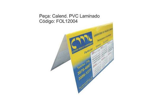 Calendário PVC Laminado - FOL12004