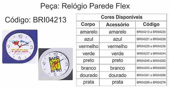 Relógio Parede Flex - BRI04213 à BRI04276