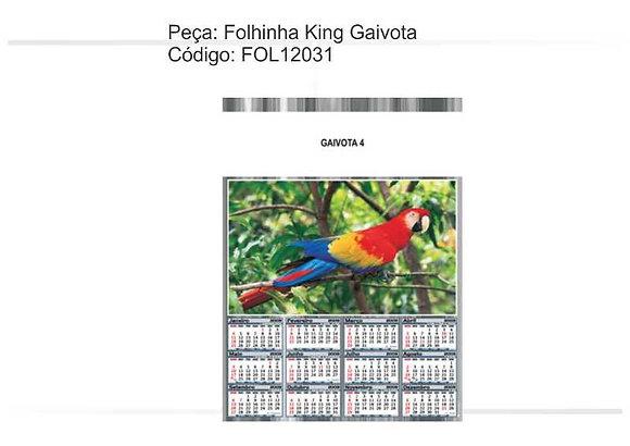 Folhinha King Gaivota - FOL12031