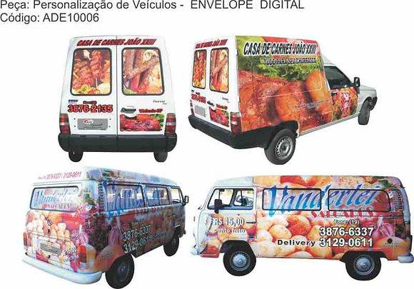 Personalização Veículos - ENVELOPE DIGITAL