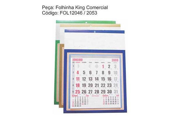 Folhinha King Comercial - FOL12046 a 2053