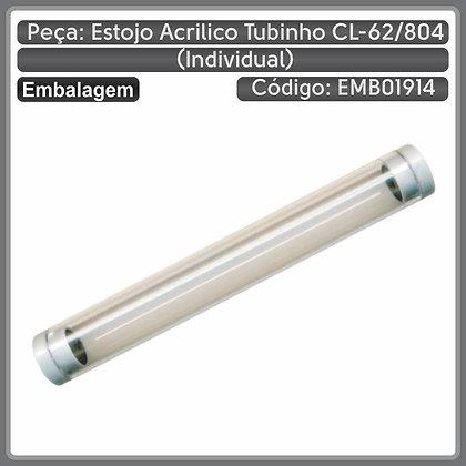 Estojo acrílico tubinho CL-62/804 (individual)