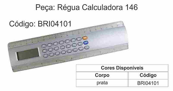 Régua Calculadora 146 - BRI04101