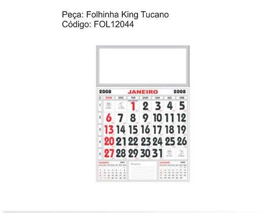 Folhinha King Tucano - FOL12044