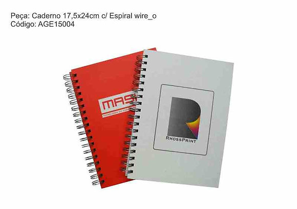 Caderno 17,5x24cm - AGE15004
