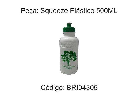Squeeze Plástico 500ML - BRI04305