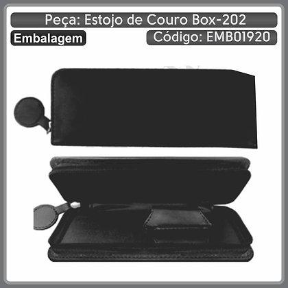 Estojo de couro BOX-202 (2 canetas)